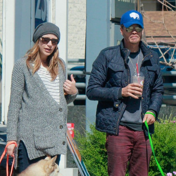 Pin for Later: Chad Michael Murray Makes a Coffee Run With His Pregnant Wife, Sarah Roemer