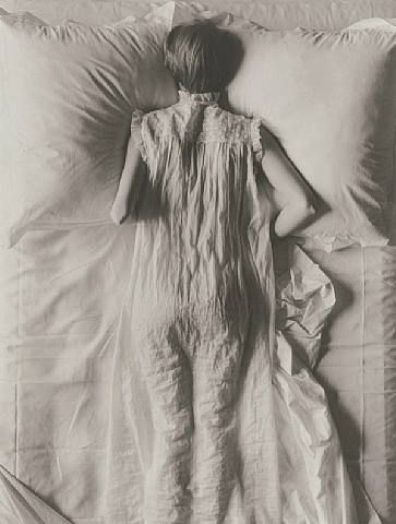 Irving Penn ~~~ Tossing and turning this is not comfortable either ~ Get up …