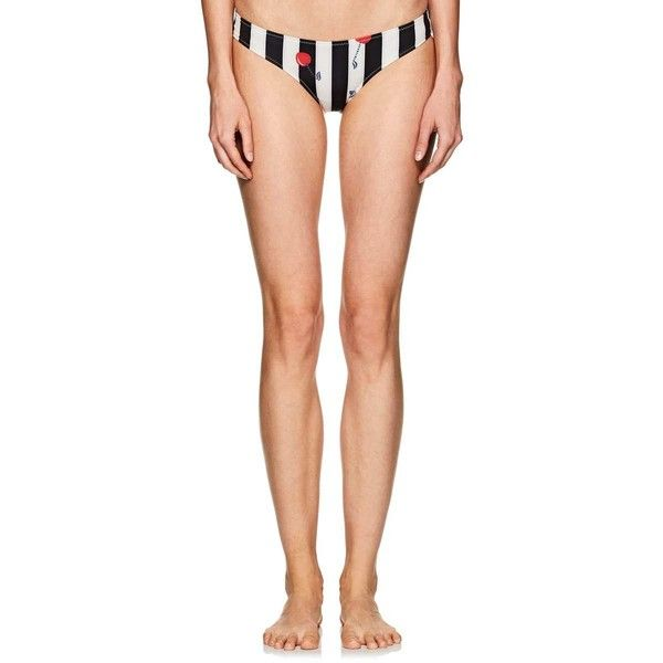 Solid & Striped Women's Elle Cherry Striped Bikini Bottom ($88) ❤ liked on Polyvore featuring swimwear, bikinis, bikini bottoms, striped bikini, retro bikinis, swim bikini bottoms, retro bikini bottom and bottom bikini