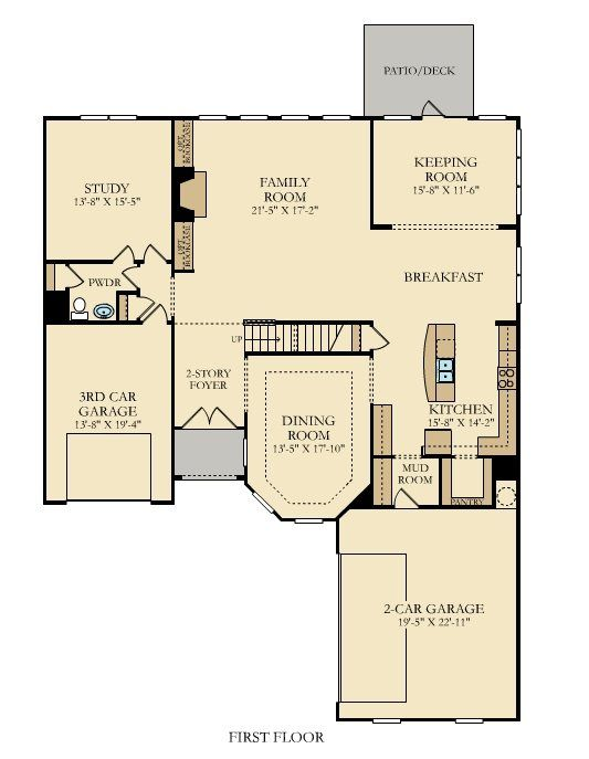 63 Best Two Story Homes Images On Pinterest Floor Plans
