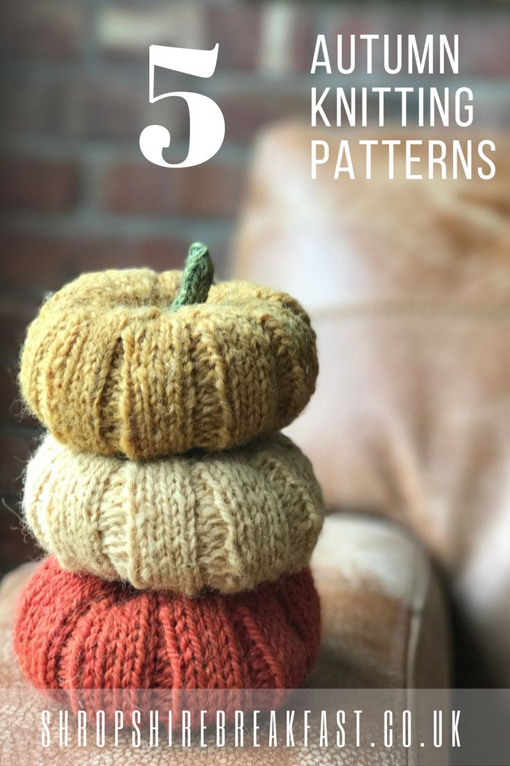 5 autumn knitting patterns | some great knitting patterns to knit when the weather turns cooler | great Christmas presents