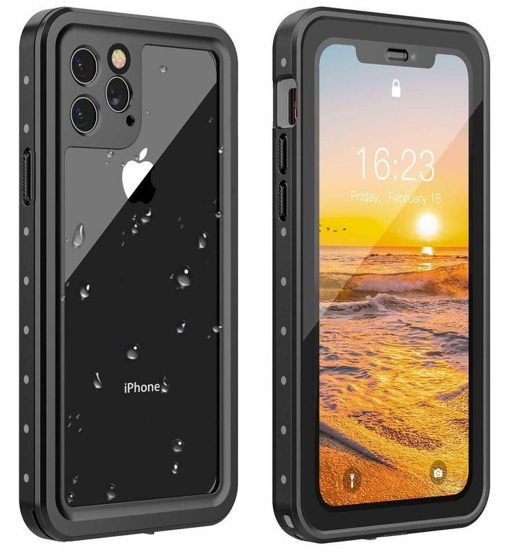 For iphone 11 pro max case waterproof shockproof screen