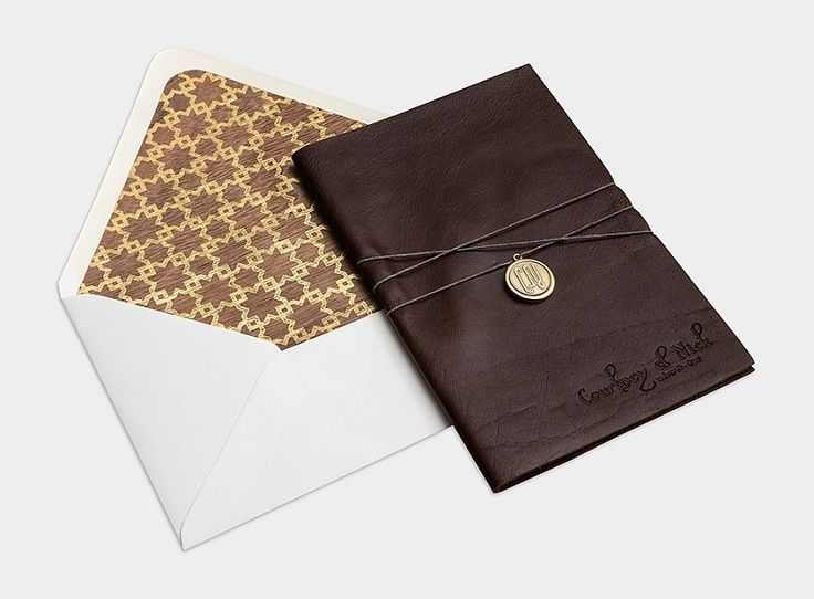 Luxury invitations designed by Bliss & Bone creative agency