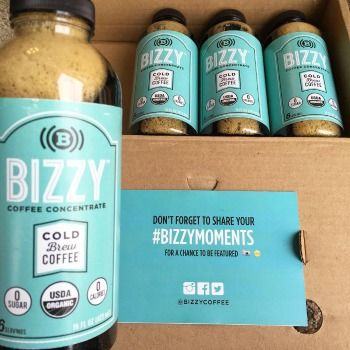 Bizzy Cold Brew Coffee Review - Cold Brew Coffee Concentrate is so good! The possibilities are endless! #coffee