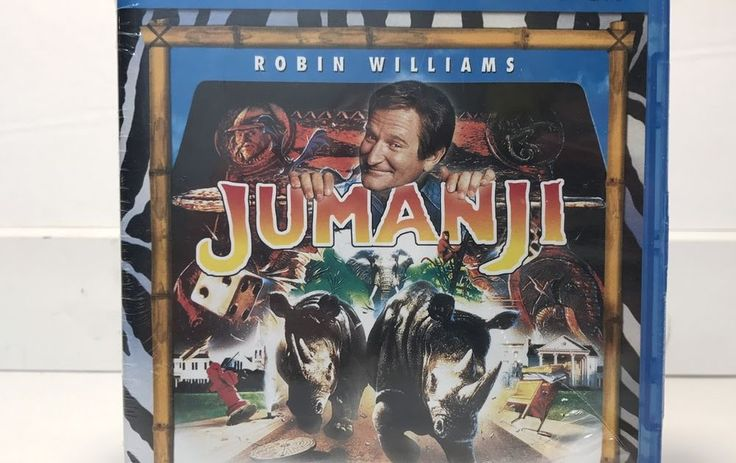 Jumanji Blu-ray & DVD 2-Disc Set 2011 Combo Pack NEW