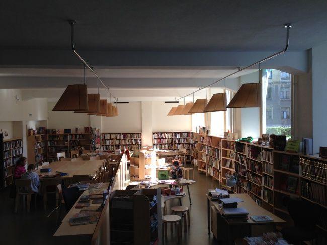 Библиотека Аалто в Выборге. Детская библиотека. Фотография © «ДНК аг»