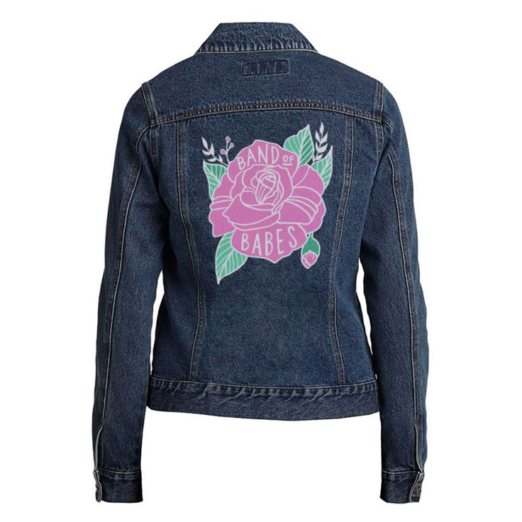 Band Of Babes Ladies Denim Jacket