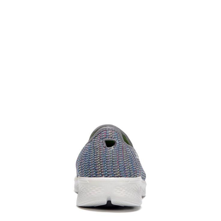 Skechers Women's GOwalk 4 Select Slip On Sneakers (Grey Multi)