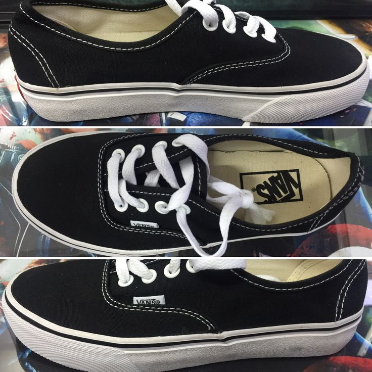 Black vans . All size available. For online-order visit Instagram @ fabulous_store_c.town or what app on 9634268341