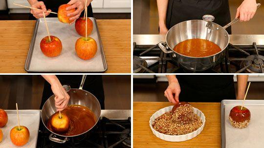Caramel Apples - Best Recipes Ever