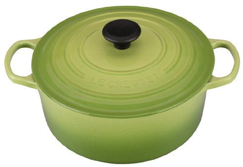 Le Creuset Signature Enameled Cast-Iron 5-1/2-Quart Round French (Dutch) Oven, Palm Le Creuset http://www.amazon.com/dp/B00I8S8WOW/ref=cm_sw_r_pi_dp_.Pvvwb039SN73
