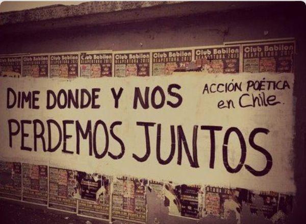 Si nos perdemos ? :3 #accionpoetica