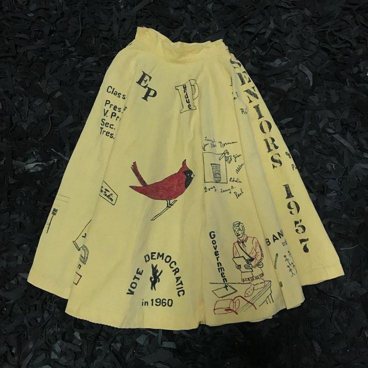 50's Graduation Skirt