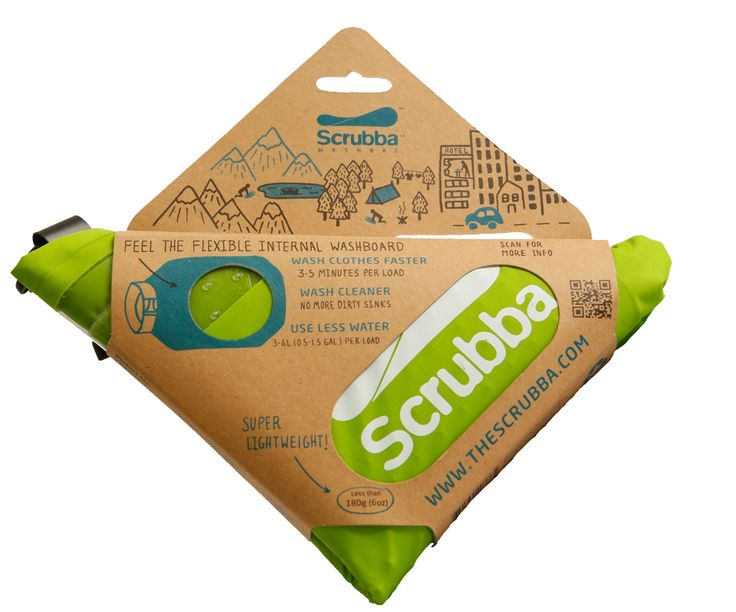 """Scrubba wash bag 2013 - The world's smallest washing """"machine"""" - Clean Clothes Anywhere"""