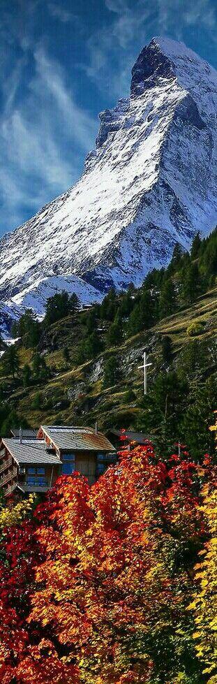 The Matterhorn Zermatt Switzerland