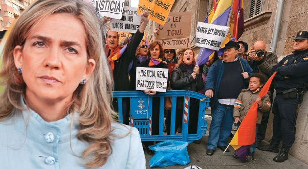 España: Jaque mate a la realeza