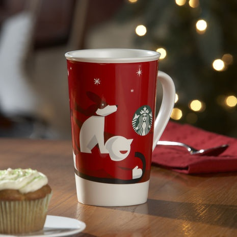 Starbucks Christmas Coffee Cup for all year round-can we only have Starbucks…