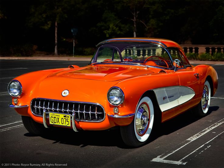 1957 Corvette Sting Ray Fuelie by © Royce Rumsey, via Facebook.com