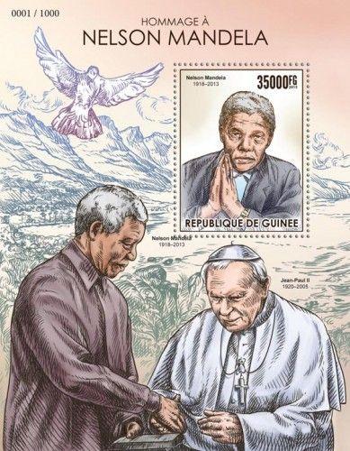 GU15415b Tribute to Nelson Mandela (1918–2013)