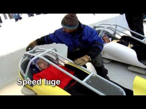 Bobsleigh Savoie : La Plagne, piste olympique de bobsleigh de la Plagne
