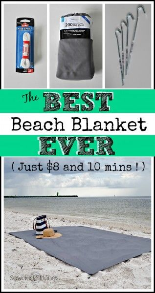 The BEST Beach Blanket ever! - Sawdust 2 Stitches