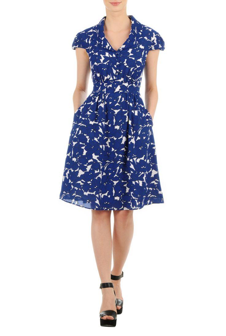 Shop womens long sleeve dresses - Women's Dresses & Tops in Misses, Plus, Petite & Tall CL0036881 | eShakti