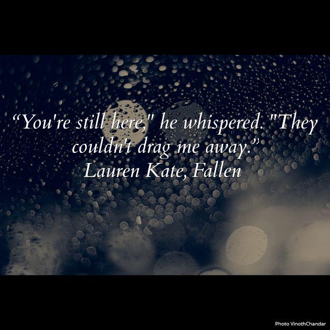 Fallen Angels Book Quotes