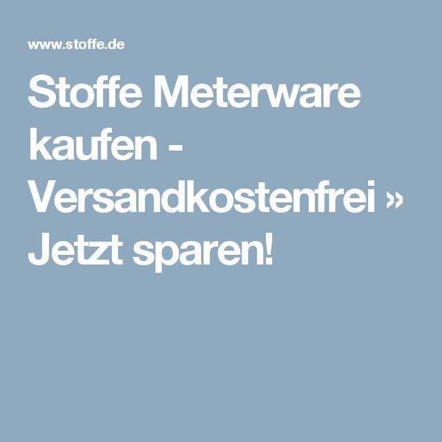 Stoffe Meterware kaufen - Versandkostenfrei » Jetzt sparen!