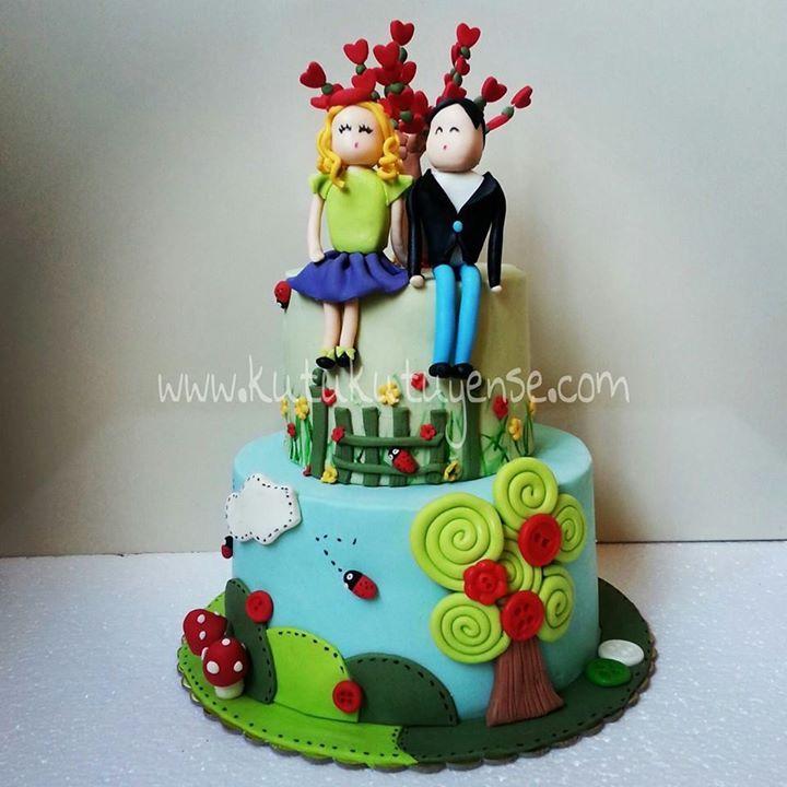 Love Tree Cake  www.kutukutuyense.com
