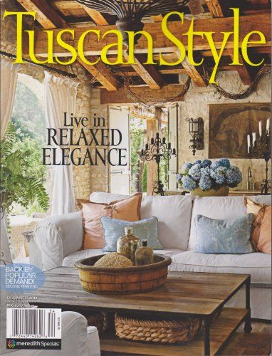 Tuscan style magazine fall winter 2013 by various http for Spring cottage magazine
