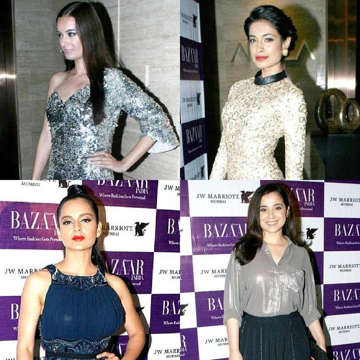 Bollywood beauties at Harpar Bazaar Bash!