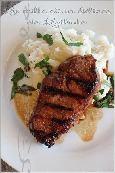 les milles & un délices de ~lexibule~: ~Côtelette de porc au BBQ~