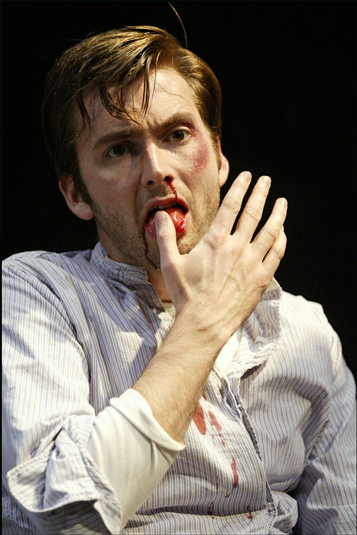 Photo of the Week: David Tennant at The Pillowman | the other ...
