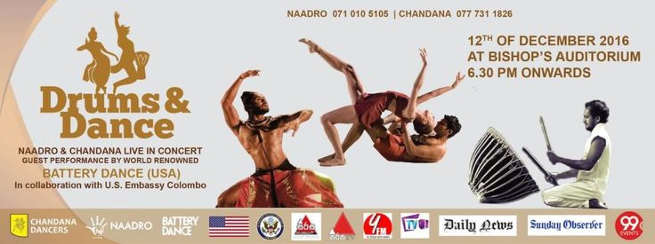 NAADRO & CHANDANA LIVE IN CONCER COLOMBO WITH BATTERY DANCE USA  http://www.srilankanentertainer.com/sri-lanka-events/naadro-chandana-live-concert/
