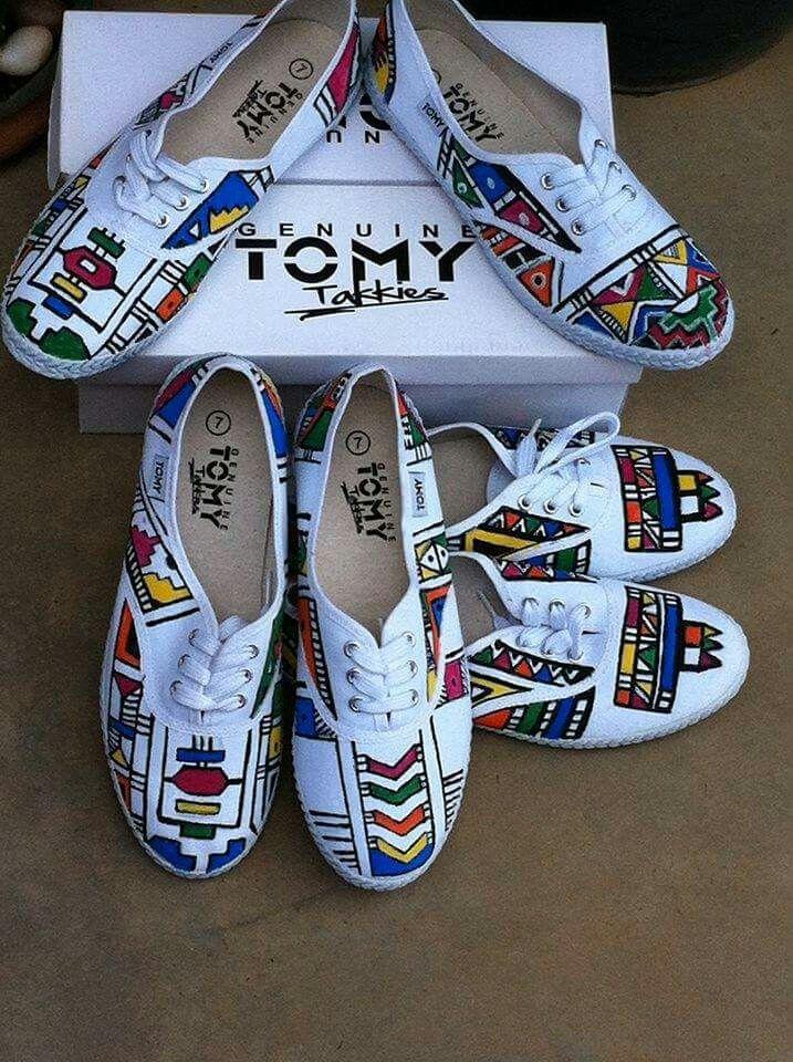 Ndebele Print Tomy Takkies Jus For Kicks Pinterest