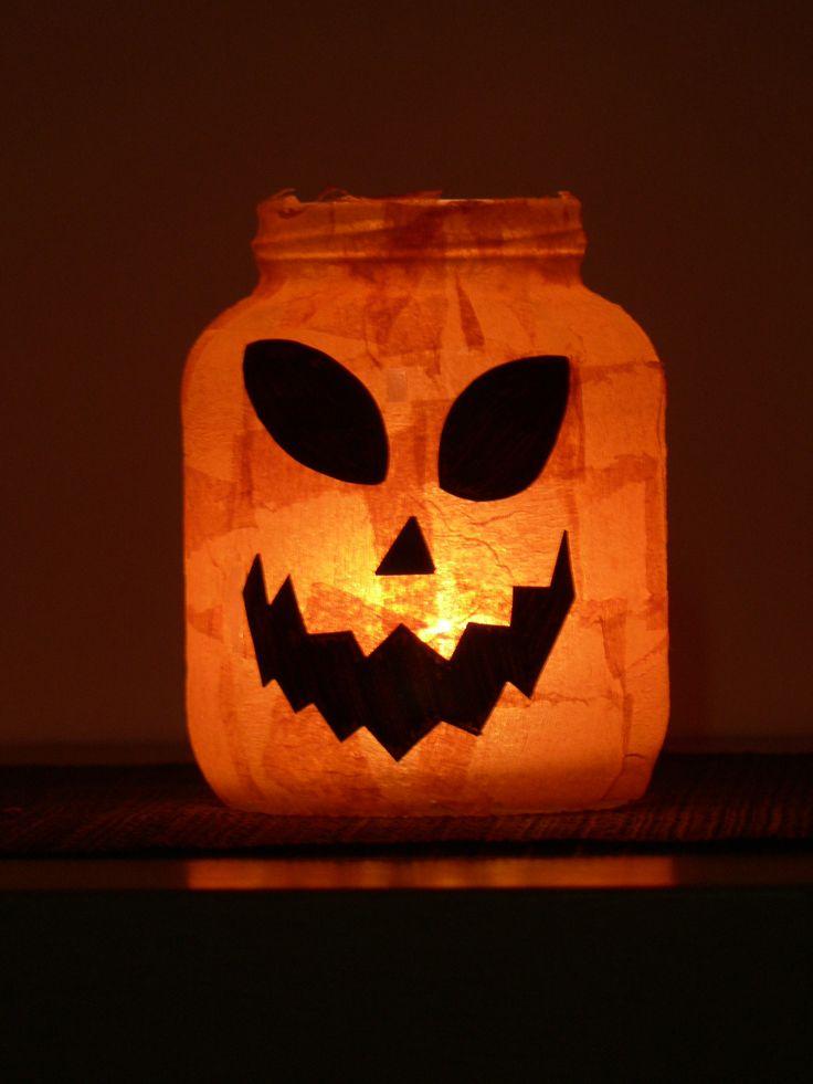 Halloween (theelichtje in bokaal)