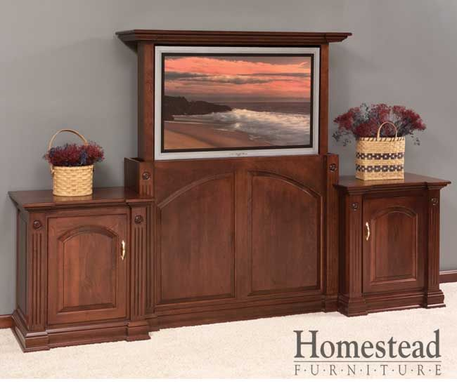 Amish Kitchen Cabinets Ohio: 12 Best Touchstone TV Lift Cabinets Images On Pinterest