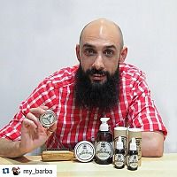 Manufacturer of moustache and beard products - Mr Bear Family