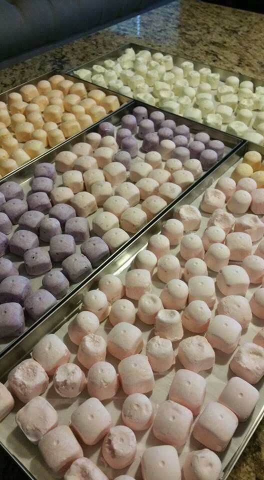 Freeze Dried yogurt drops using a Harvest Right Freeze Dryer. Posted in my Facebook group, Bettys Harvest Right Freeze Dryers Group.