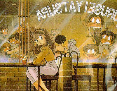 Urusei Yatsura - Lum in a diner