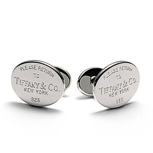 """Return to Tiffany's"" cufflinks from Tiffany and Co."
