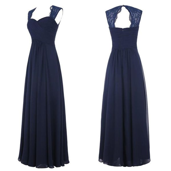 Navy Blue Lace Bridesmaid Dresses, Off the Shoulder Long Bridesmaid Dresses,Open Back Bridesmaid Dresses,Simple Bridesmaid Gowns,Long Prom Dresses, Graduation Dresses,Formal Women Dresses
