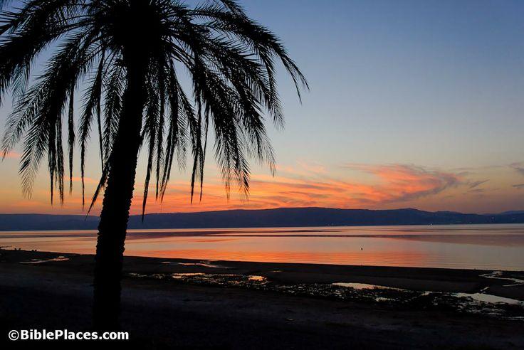 Sea-of-Galilee-sunset
