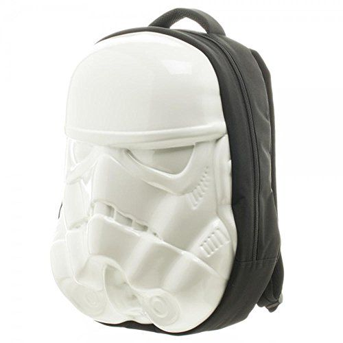Molded Star Wars StormTrooper backpack! This book bag looks awesome! http://starwarsbackpack.com/star-wars-backpacks-for-adults-and-teens/