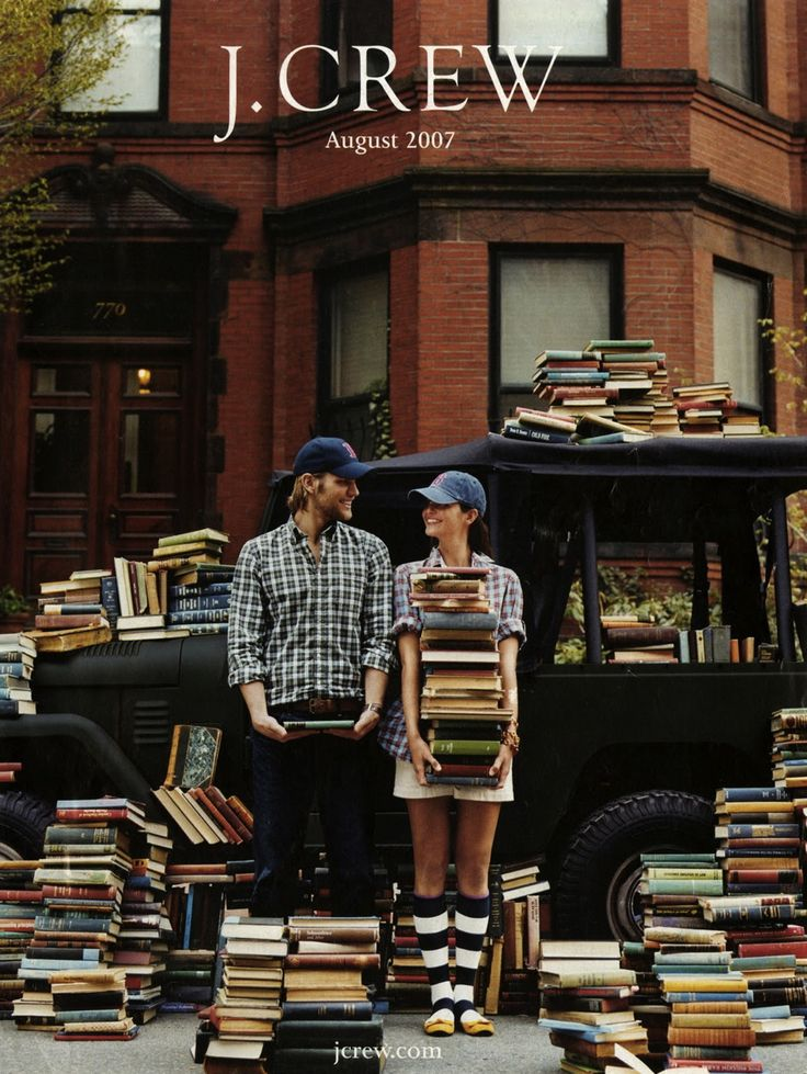 Memory Lane: Our favorite J.Crew catalog covers... - August 2007