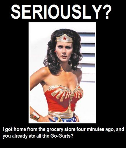 Amazon Women Quotes: If Wonder Woman Was A Mom: 11 Funny Photos