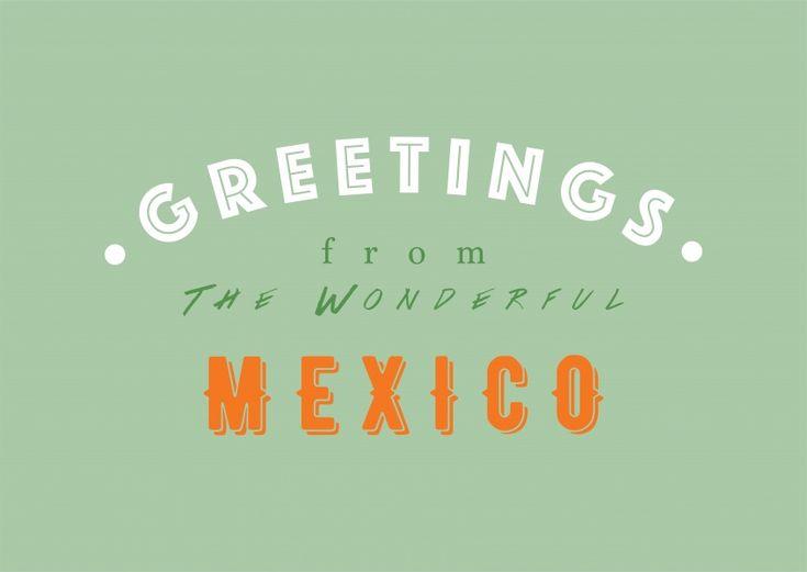 WONDERFUL MEXICO   Urlaubsgrüße   Echte Postkarten online versenden   MyPostcard.com
