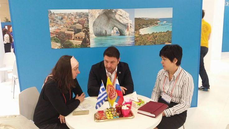 Ολοκληρώνοντας την τριήμερη  καμπάνια της Περιφέρειας Στερεάς Ελλάδας στην Μόσχα και στο πλαίσιο της Διεθνούς Τουριστικής Εκθεσης MITT2015... στοχευμένες επαφές, συναντήσεις και παρουσιάσεις