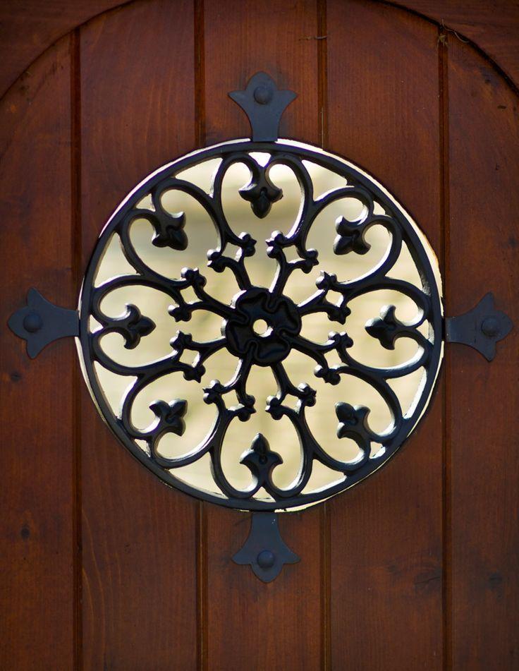 Barndoor Window Covering Diy Barn Door