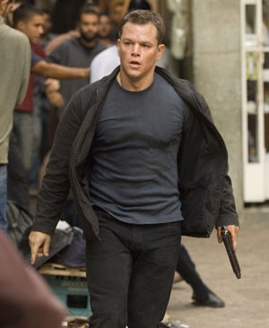 Jason Bourne.   Matt Damon <3